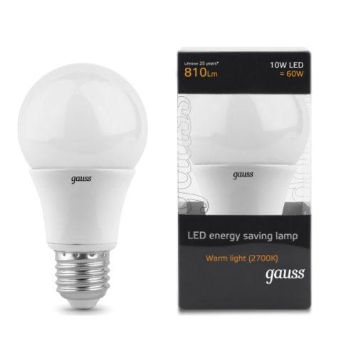 GLS Lamps E27 10W 810lm WL 600