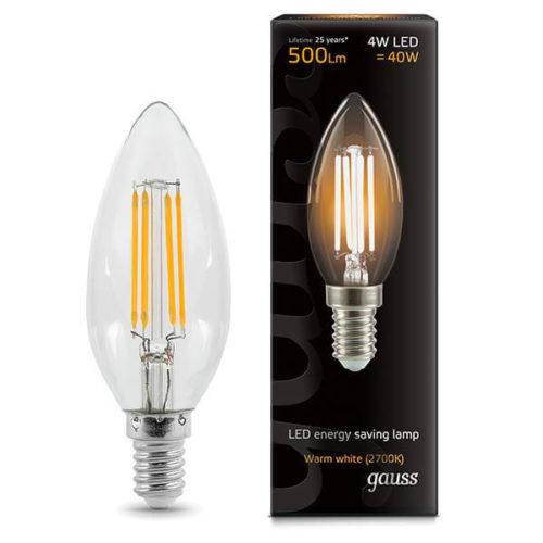 LED žarnica Gauss E14 4W 2700K