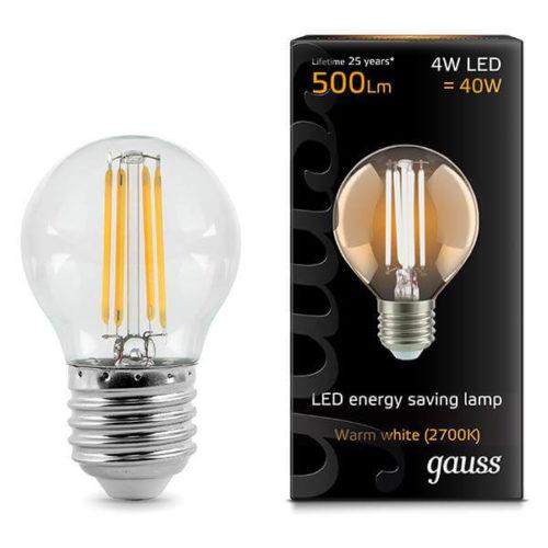 LED žarnica Gauss E27 4E 2700K