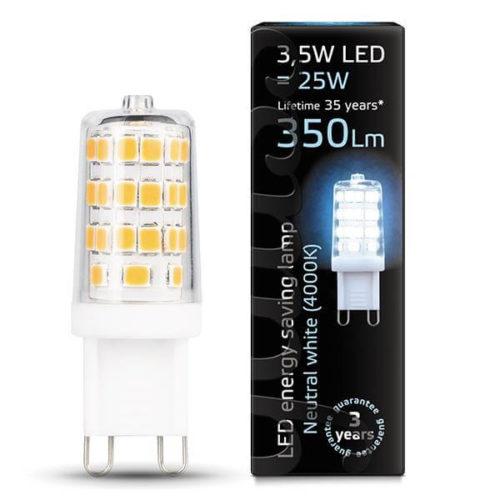 LED žarnica Gauss G9 3.5W 4000K