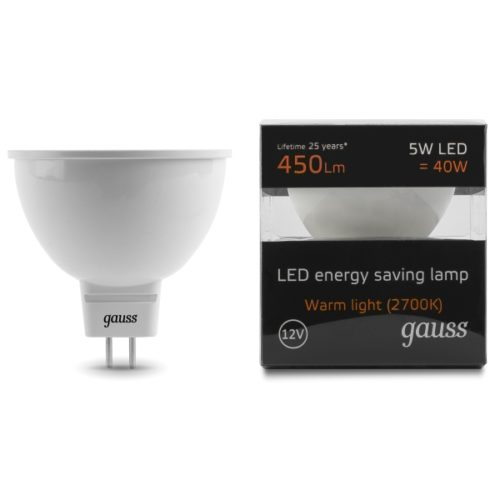 SPOT GU10 5W 450lm WL 600