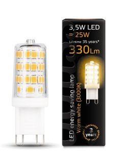 LED žarnica Gauss G9 3.5W 3000K