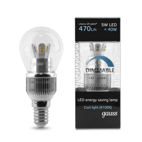 DIMMABLE E14 5W CW 600