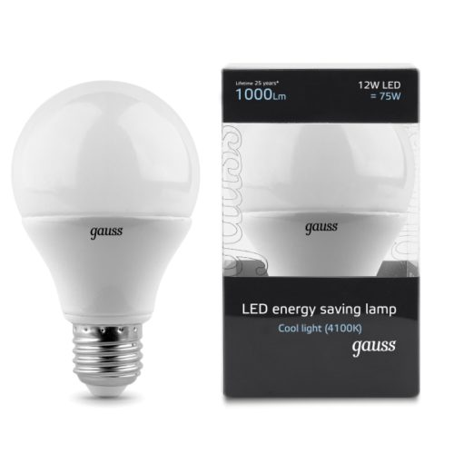 GLS Lamps E27 12W 1000lm CL 600