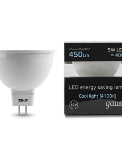 LED žarnica Gauss MR16 5W 4100K