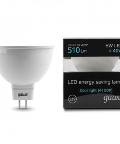 LED žarnica Gauss MR16 6W 4100K