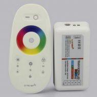 RGB+W LED krmilnik z touch daljincem - 4 x 6A kanali