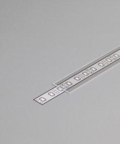 Difuzor za ALU profil B, 2m, prosojen