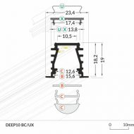 LED_profile_DEEP10_dimensions_500