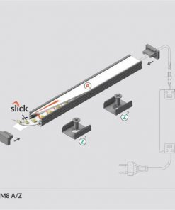 LED_profile_SLIM8_diagram_500