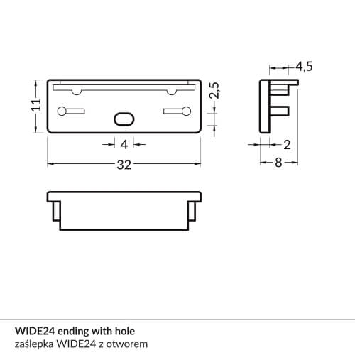 WIDE214_ending_with_hole_dimensions_500