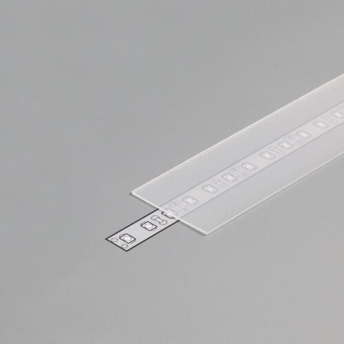 Difuzor za ALU profil G, 2m, polprosojen