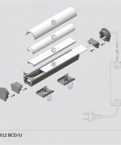 LED_profile_UNI12_diagram_500