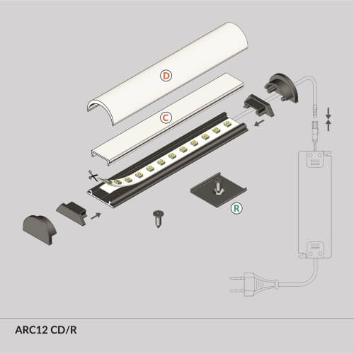 LED_profile_ARC12_diagram_500