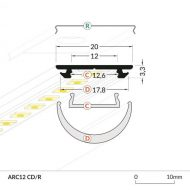 LED_profile_ARC12_dimensions_500
