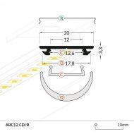 LED_profile_ARC12_dimensions_500