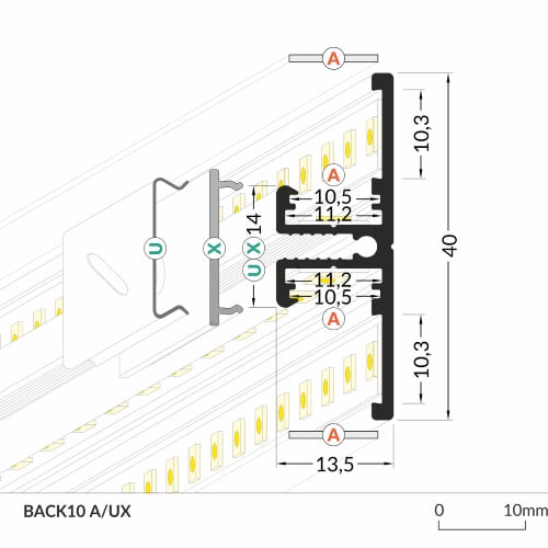 LED_profile_BACK10_dimensions_500