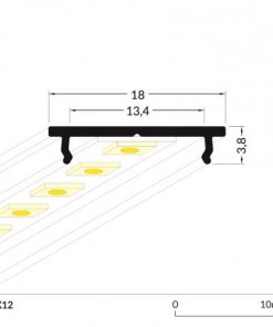 LED_profile_FIX12_dimensions_500