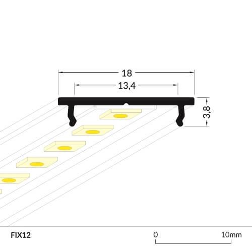 LED_profile_FIX12_dimensions_500