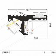 LED_profile_STEP10_dimensions_500
