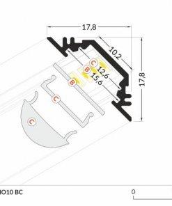 LED_profile_TRIO10_dimensions_500