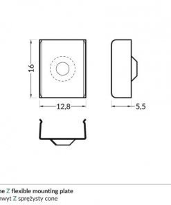 Z_flexible_cone_mounting_plate_dimensions_500