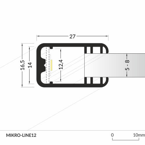 LED_profile_MIKRO-LINE12_dimensions_500