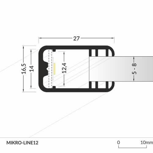 LED_profile_MIKRO-LINE12_dimensions_500