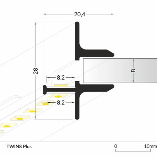 LED_profile_TWIN8_Plus_dimensions_500