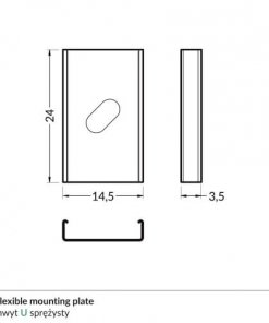 U_flexible_mounting_plate_dimensions_500