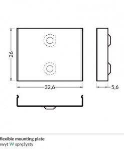 W_flexible_mounting_plate_dimensions_500
