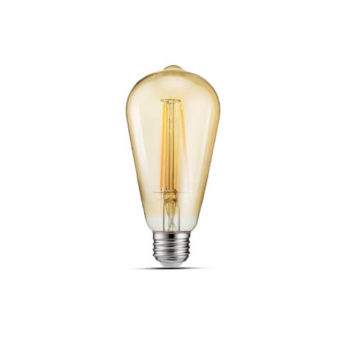 LED žarnica Filament E27 ST64 4W 2700K Retro