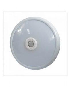 LED stropna svetilka LAMBARIO s senzorjem 12W 6400K