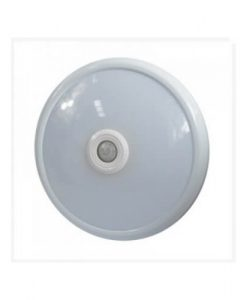 LED stropna svetilka s senzorjem 12W 6400K