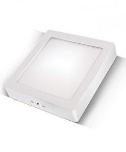 LED panel kvadratni nadgradni 12W, 3000K