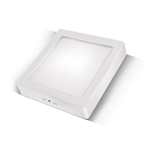 LED panel kvadratni nadgradni 12W, 3000K
