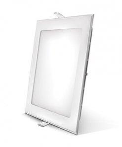 LED panel kvadratno vgradni 6W, 3000K
