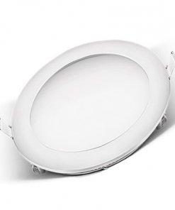 LED panel okrogli vgradni 18W 3000K