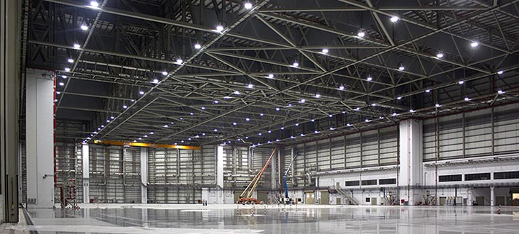 LED svetila za proizvodnjo