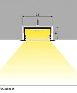 LED profil VARIO30-06/s