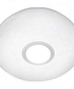 Sound stropna LED svetilka z zvočnikom 72W RGB, fi500mm