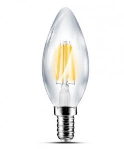 LED žarnica E14 4W Candle Filament, 3000K
