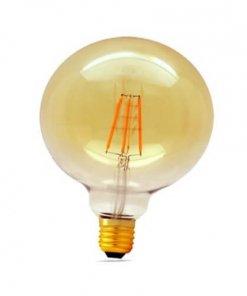 LED žarnica E27 8W G125 Filament, 2700K