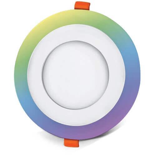LED panel okrogli vgradni RGB 18W 4200K
