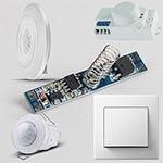 Stikala, senzorji in vtičnice menu 150